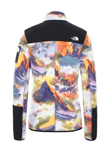 The North Face The North Face Diablo Midlayer Yarım Fermuarlı Kadın Polar Print Mor
